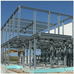Casas prefabricadas de acero reforzado