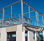 Viviendas prefabricadas de acero reforzado Barcelona