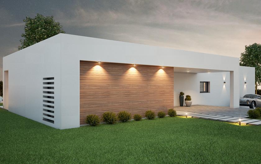 Vivienda en estructura de acero toda exterior con preciosas vistas de 170 m2 compuestos por 4 habitaciones, 3 baños y espacio abierto para comedor cocina.